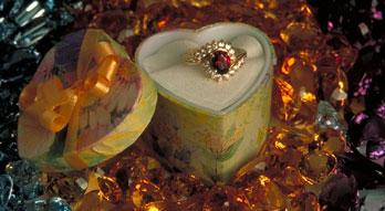 Gemstone Ring Photo